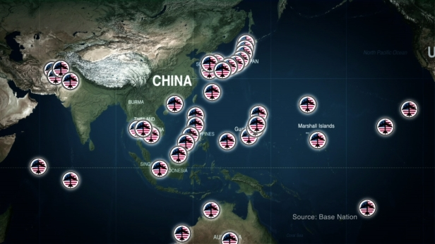 US Military containmement China