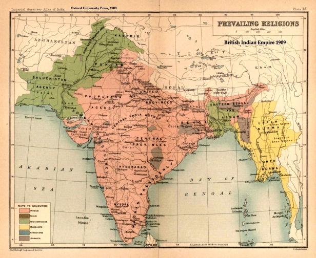 British India Religions