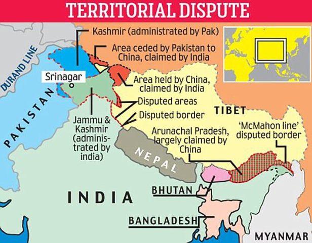 Doklam plateau territorial disputes
