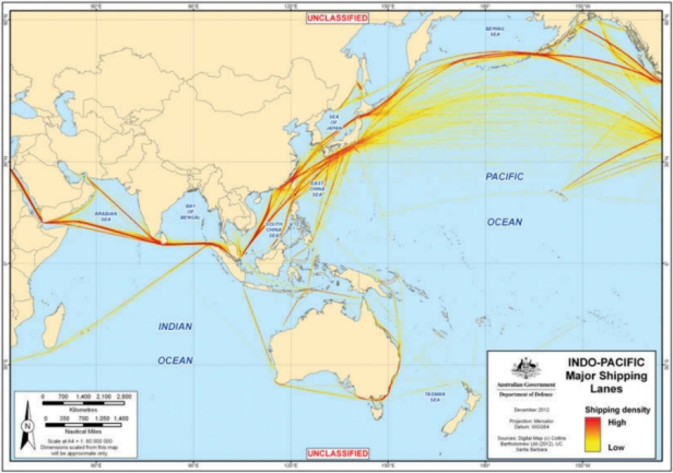 Indo Pacific Freedom corridor