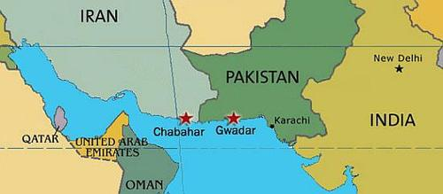 Ormuz chabahar Gwadar