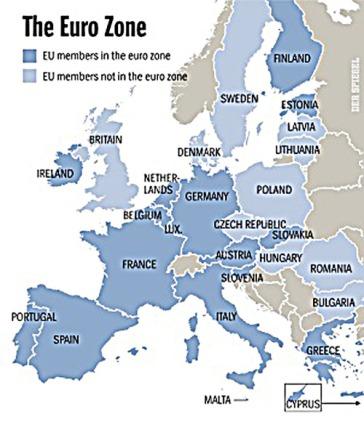 Euro zone-Non euro